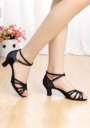 Gladiator Ankle Strap Heeled Sandals