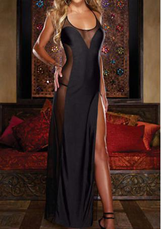 One Size G-String Sleepwear Dress