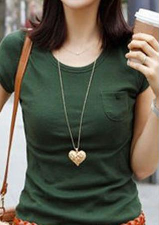 3D Hollow Flower Heart Long Necklace