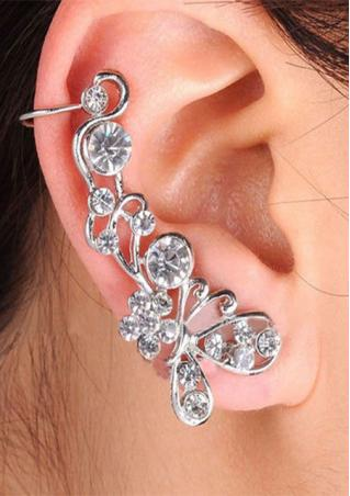 1Pc Alloy Bead Ear Cuff Clip