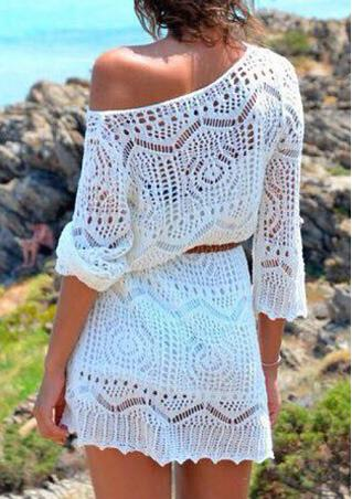 One Size Lace Cover Up