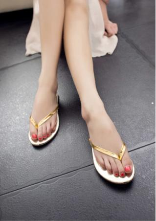Leather Flip Flops Sandals