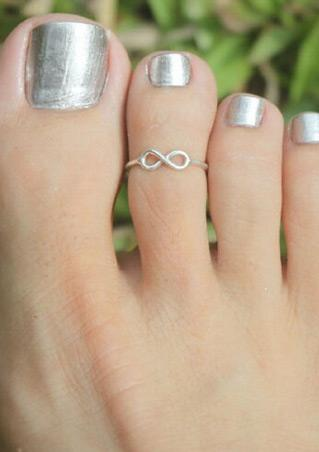 Adjustable Alloy Toe Ring