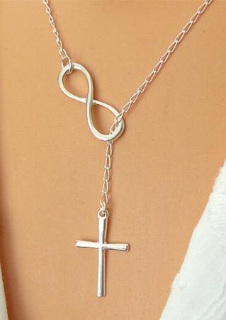Cross Pendant Chain Necklace