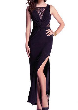 Sleeveless Backless Maxi Dress