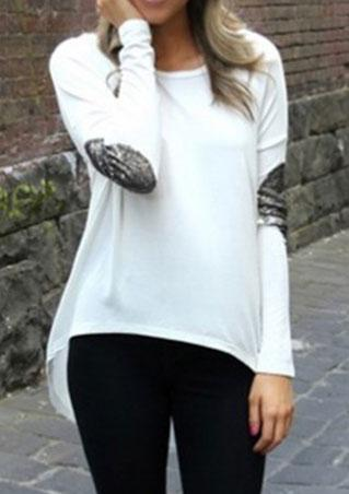 Irregular Loose Blouse