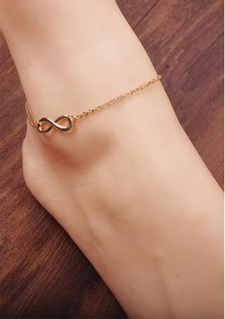 Alloy 8 Foot Ankle Chain