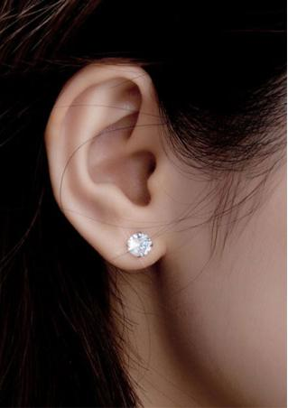 Alloy Shiny Earrings
