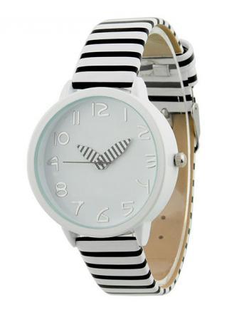 Strap Zebra Print Leather Watch