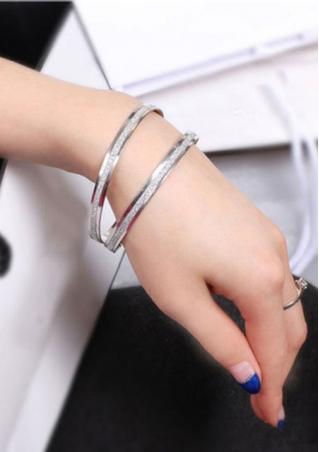 Frosted Alloy Bracelet