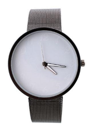 Stainless Steel Band Quartz Wristwatch