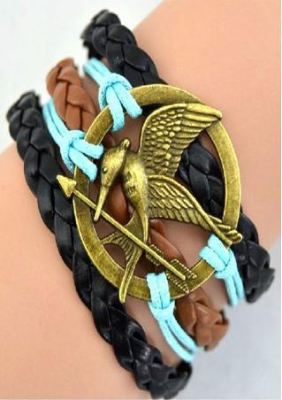 Layered Bird Bracelet