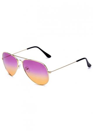 Retro Metal Frame Toad Sunglasses