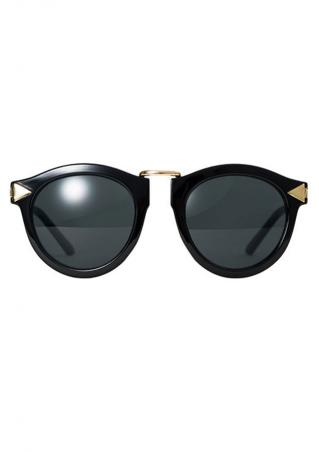 Round Vintage Fashion Eyewear Sunglasses