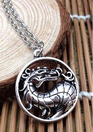 Fashion Dragon-Shaped Sweater Chain