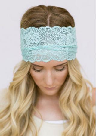 Embroidery Lace Headband
