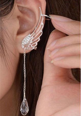 1Pc Rhinestone Ear Clip