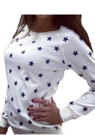 Star Long Sleeve Jumper
