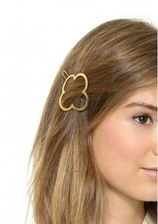 Four-Leaf Clover Hairpin