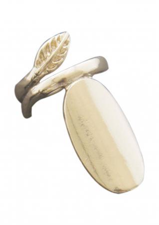 Leaf Fashion Fingernail Ring