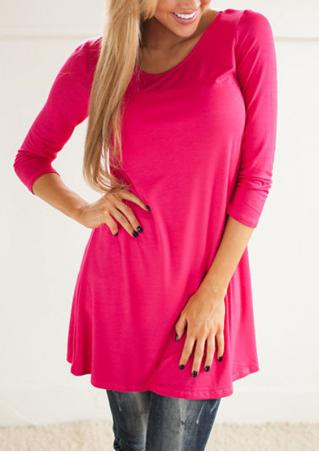 Solid Lace Mini Casual Dress
