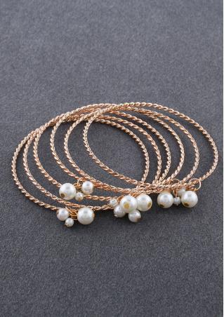 Fashion Elegant 6Pcs/set Bracelets Bangles