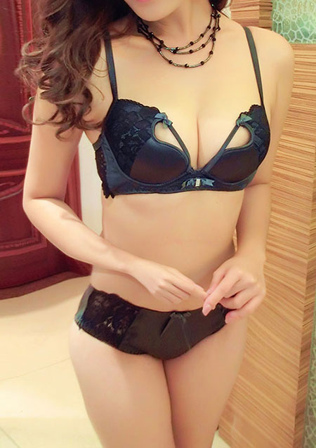 Solid Lace Bowknot Bra Set