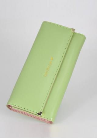 Letter PU Leather Long Fashion Purse