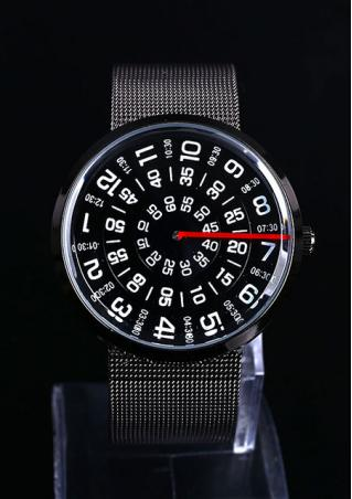 Transfer Stainless Steel Belt Wrist Watch