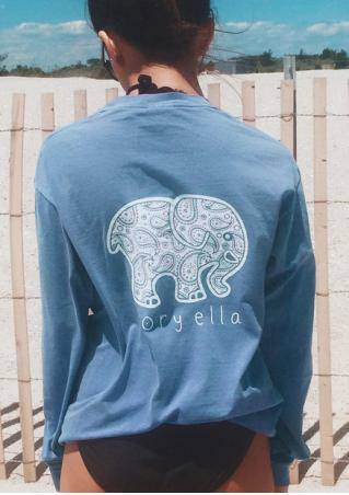 Elephant Pocket Fashion T-Shirt