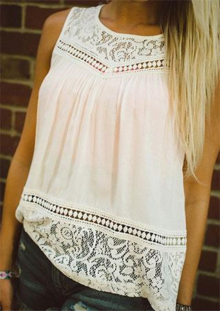 Lace Backless Tank