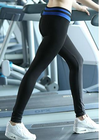Splicing Cross High Waist Stretchy Yoga Pants