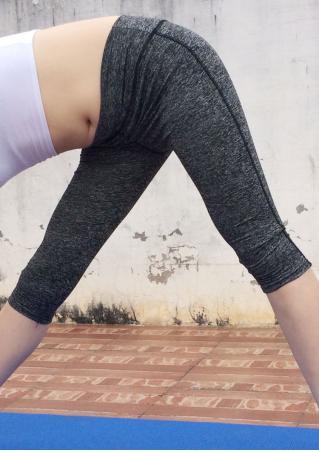 Elastic Waist Skinny Yoga Leggings