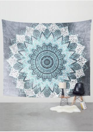Printed Rectangle Tapestry