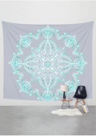 Mandala Printed Rectangle Tapestry