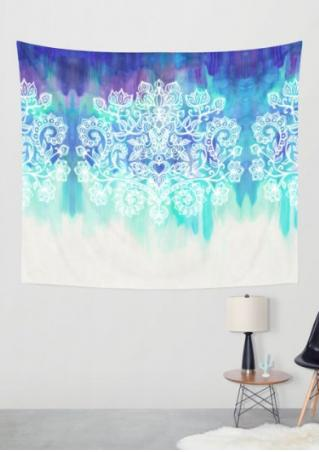 Printed Fashion Rectangle Tapestry