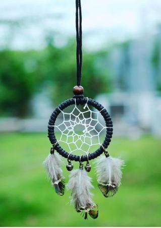 Handmade Dream Catcher Necklace