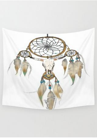 Dream Catcher Printed Rectangle Tapestry