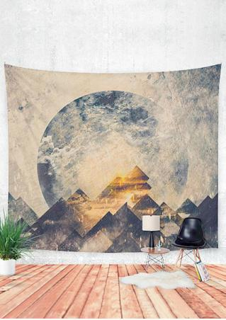Mountain Printed Rectangle Tapestry
