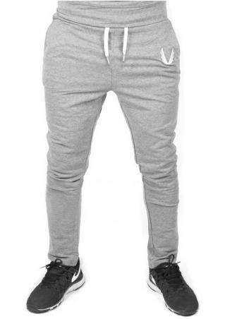 Solid Pocket Side Zipper Pants
