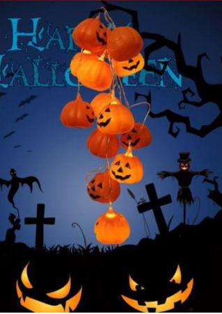 Halloween LED Mini Pumpkin String Light