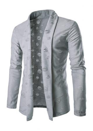 Solid Long Sleeve Blazer