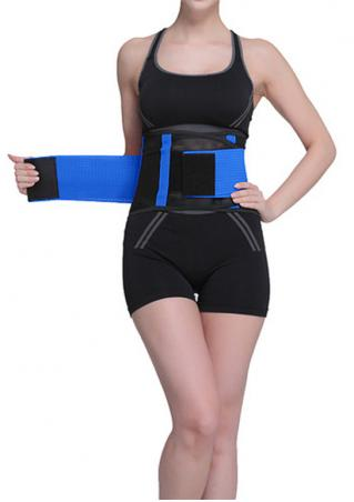 Color Block Slim Waist Corset