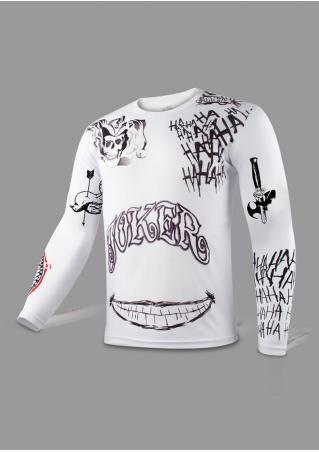 Joker Tattoo Printed T-Shirt