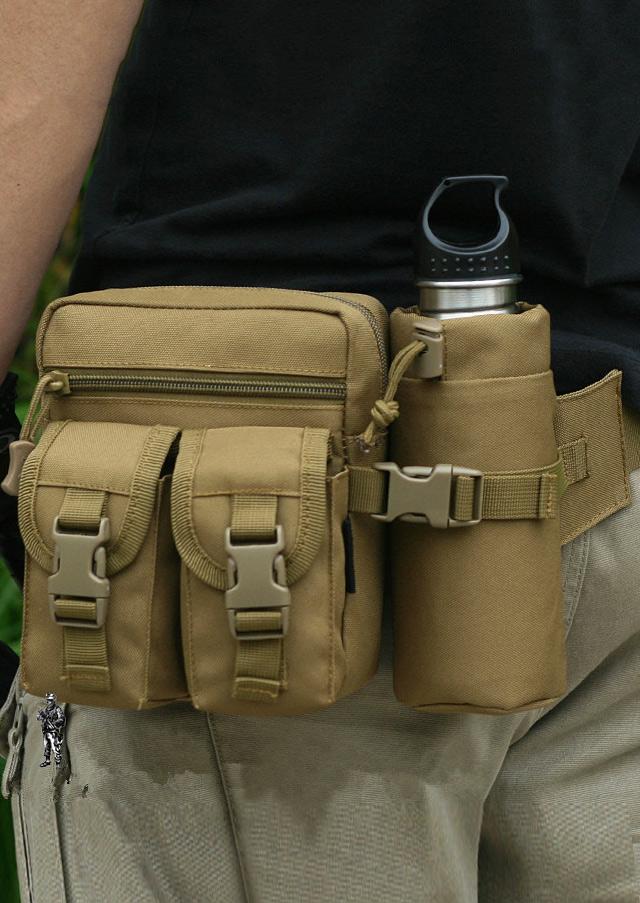 Solid Outdoor Sport Waist Bag 96656
