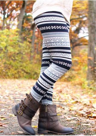 Printed Stretchy Skinny Slim Leggings