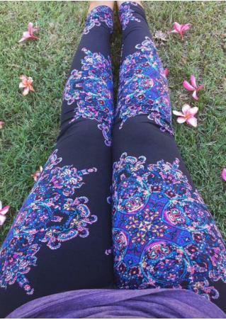 Floral Stretchy Leggings