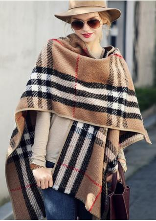 Plaid Printed Scarf