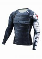 Image of 3D Winter Soldier Avengers Printed T-Shirt