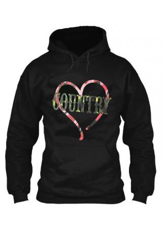 Love Country Kangaroo Pocket Hoodie